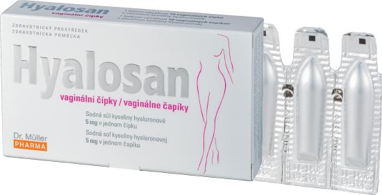 Hyalosan vaginal suppositories0